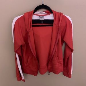 Women's Nike Pink, Black, and White Jacket Small